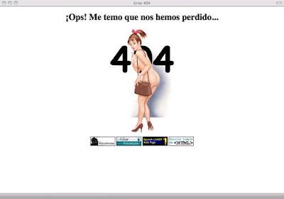 Las 49 paginas de Error 404 más originales y creativas.