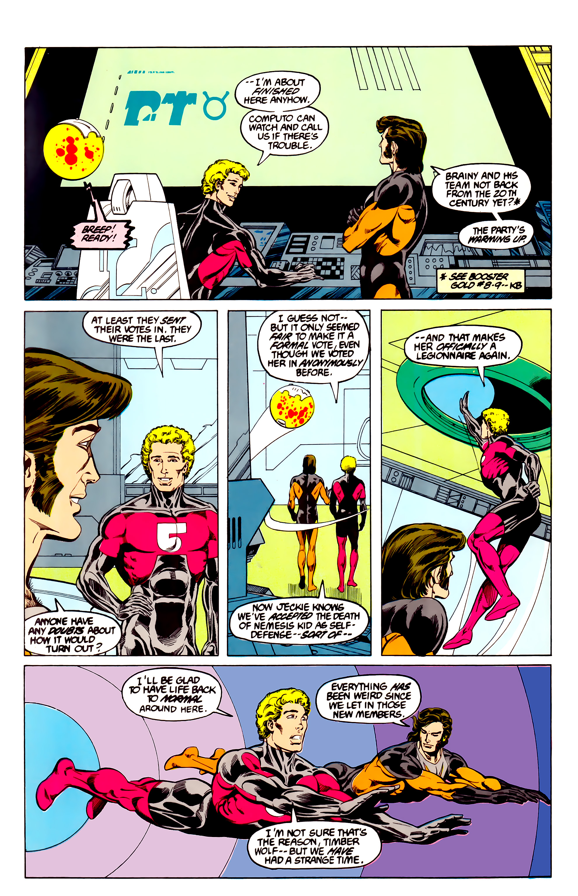 Legion of Super-Heroes (1984) 27 Page 27