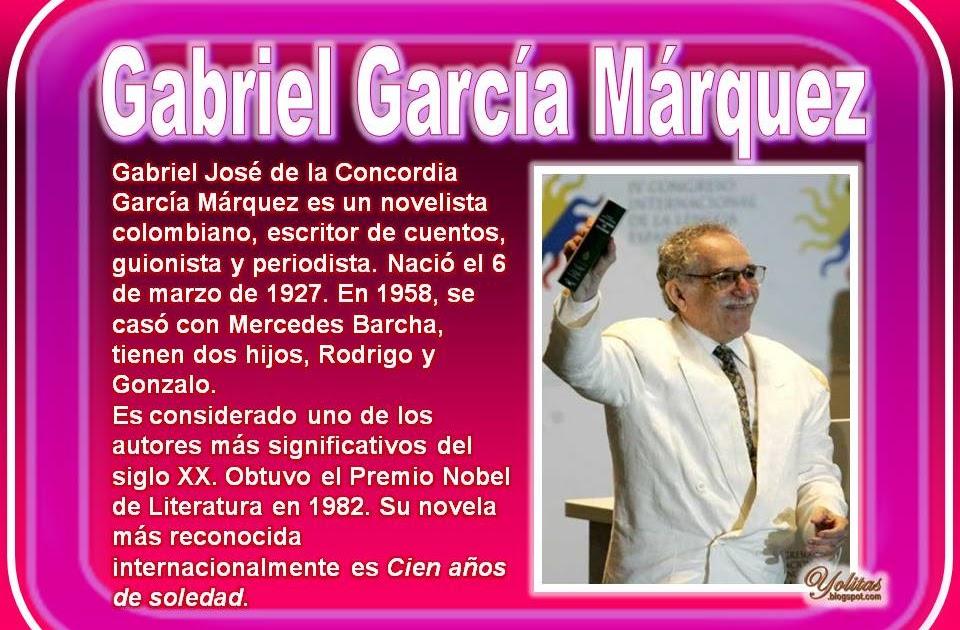 Yolitas decoraciones gabriel garc a m rquez for Cuentos de gabriel garcia marquez