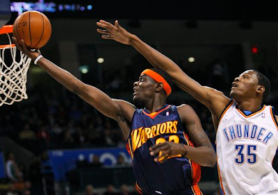 Kevin Durant wows, but Thunder doesn't in 112-102 loss to Warriors