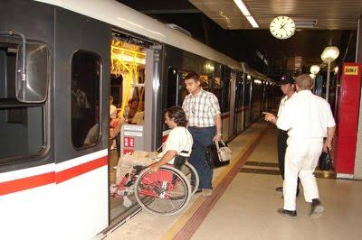 Ağır engelli refakatçisine ulaşım ücretsiz