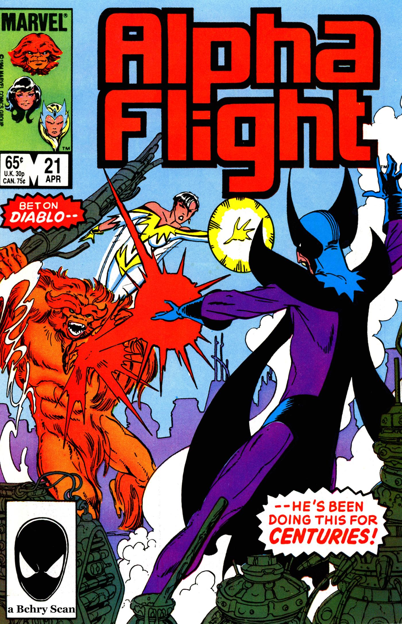 Alpha Flight (1983) 21 Page 1