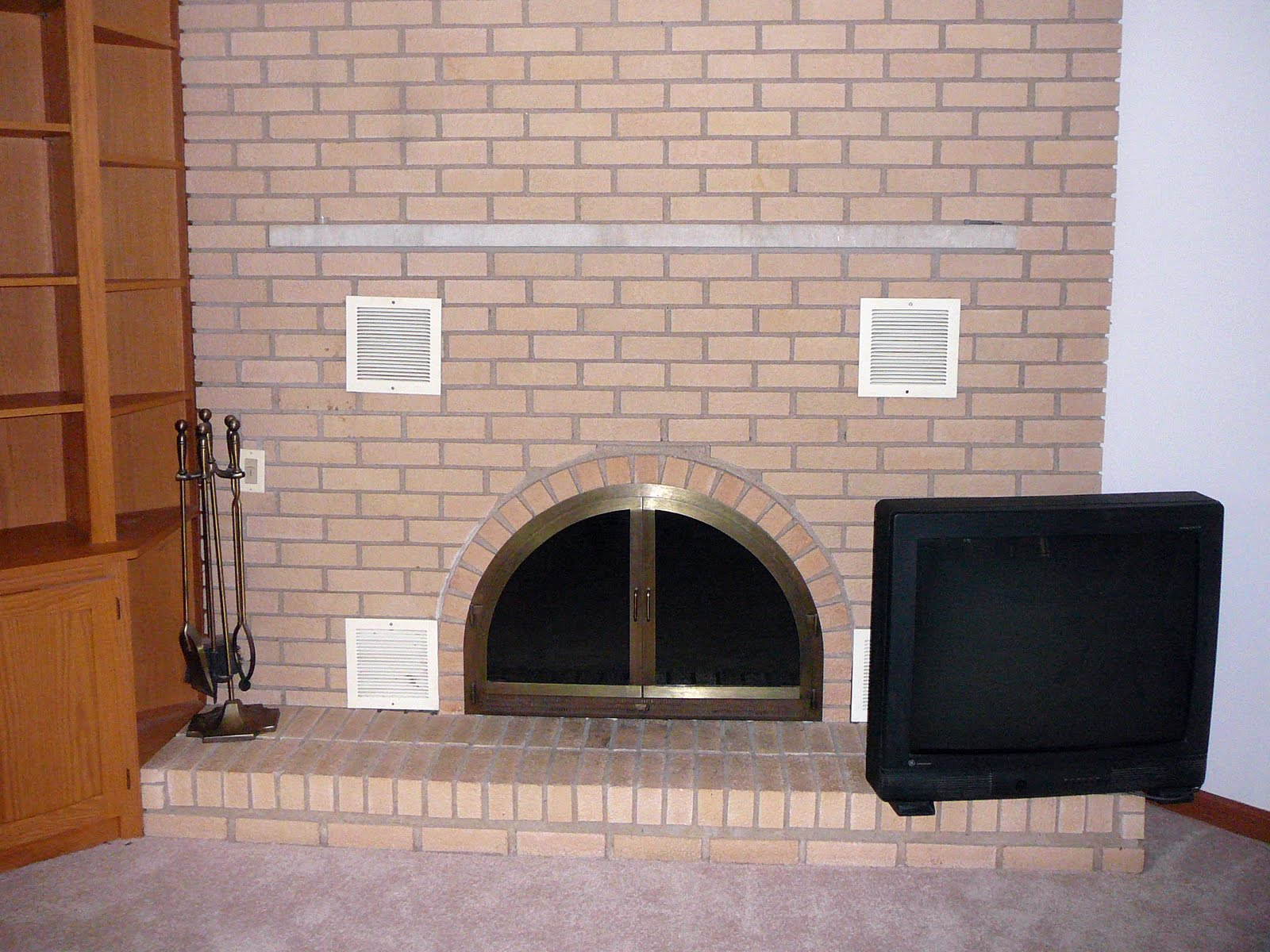 The Pursuit of Happiness: Amazing Fireplace Transformation