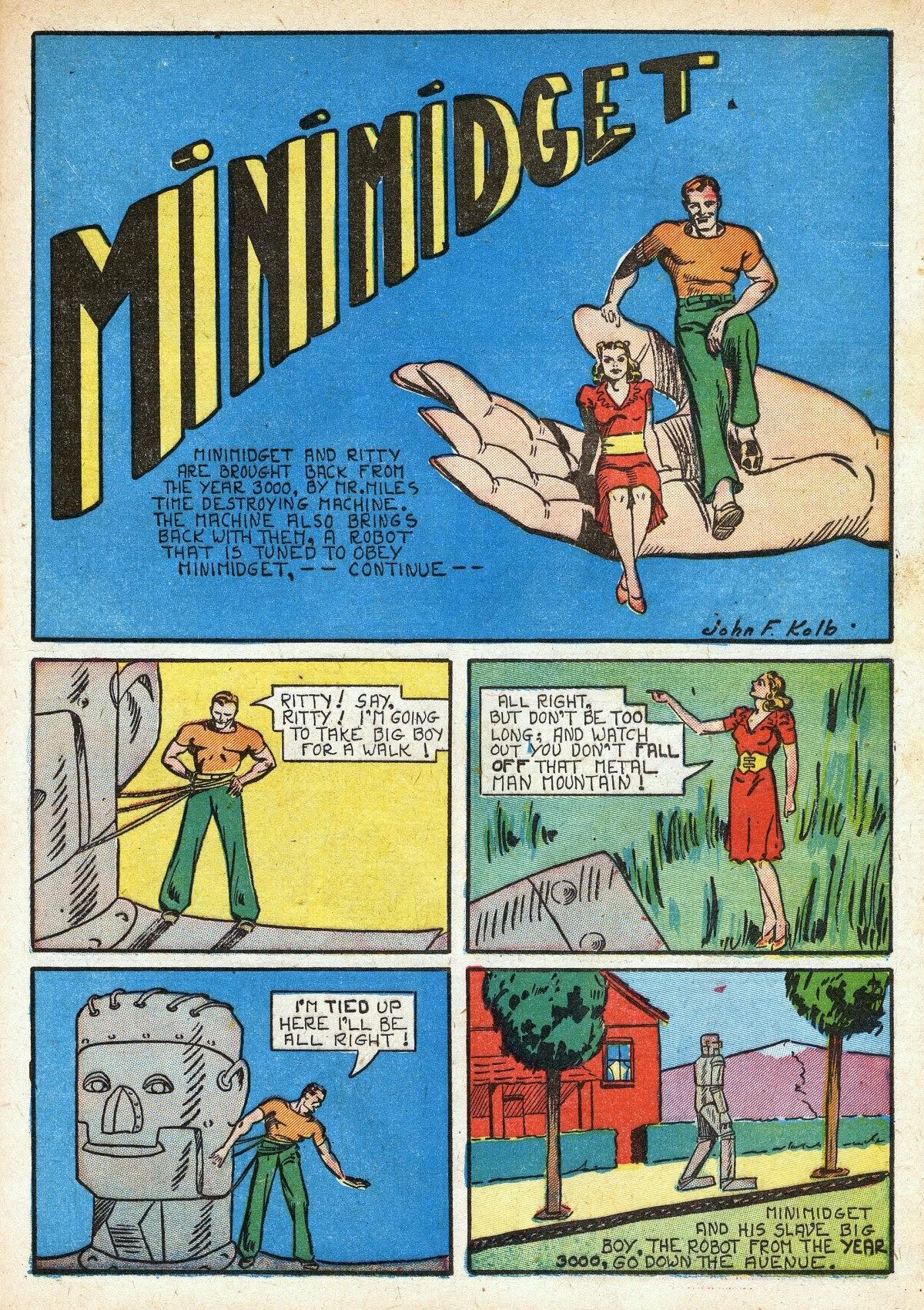Read online Amazing Man Comics comic -  Issue #16 - 23