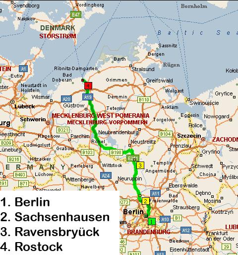 sachsenhausen kart Sandfallet ungdomsskole   Hvite busser: Siste dag i Tyskland sachsenhausen kart