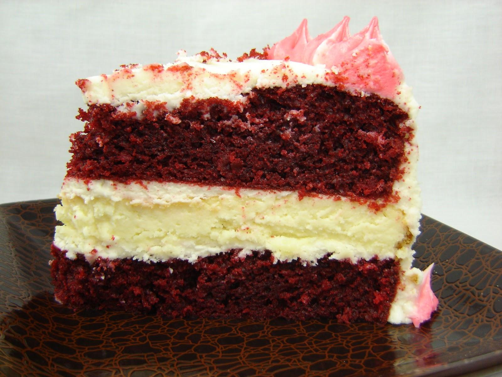Red Velvet Cheesecake Cake Recipe Dishmaps