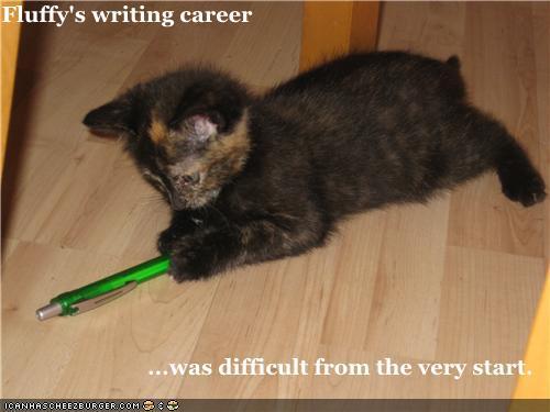Writing Kitteh