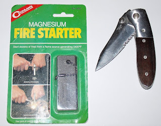 Sword Of Survival: Fire Starting With Magnesium Stick