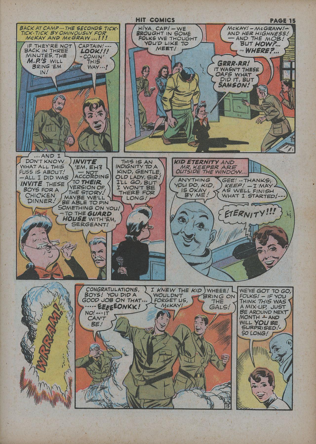 Read online Hit Comics comic -  Issue #27 - 17