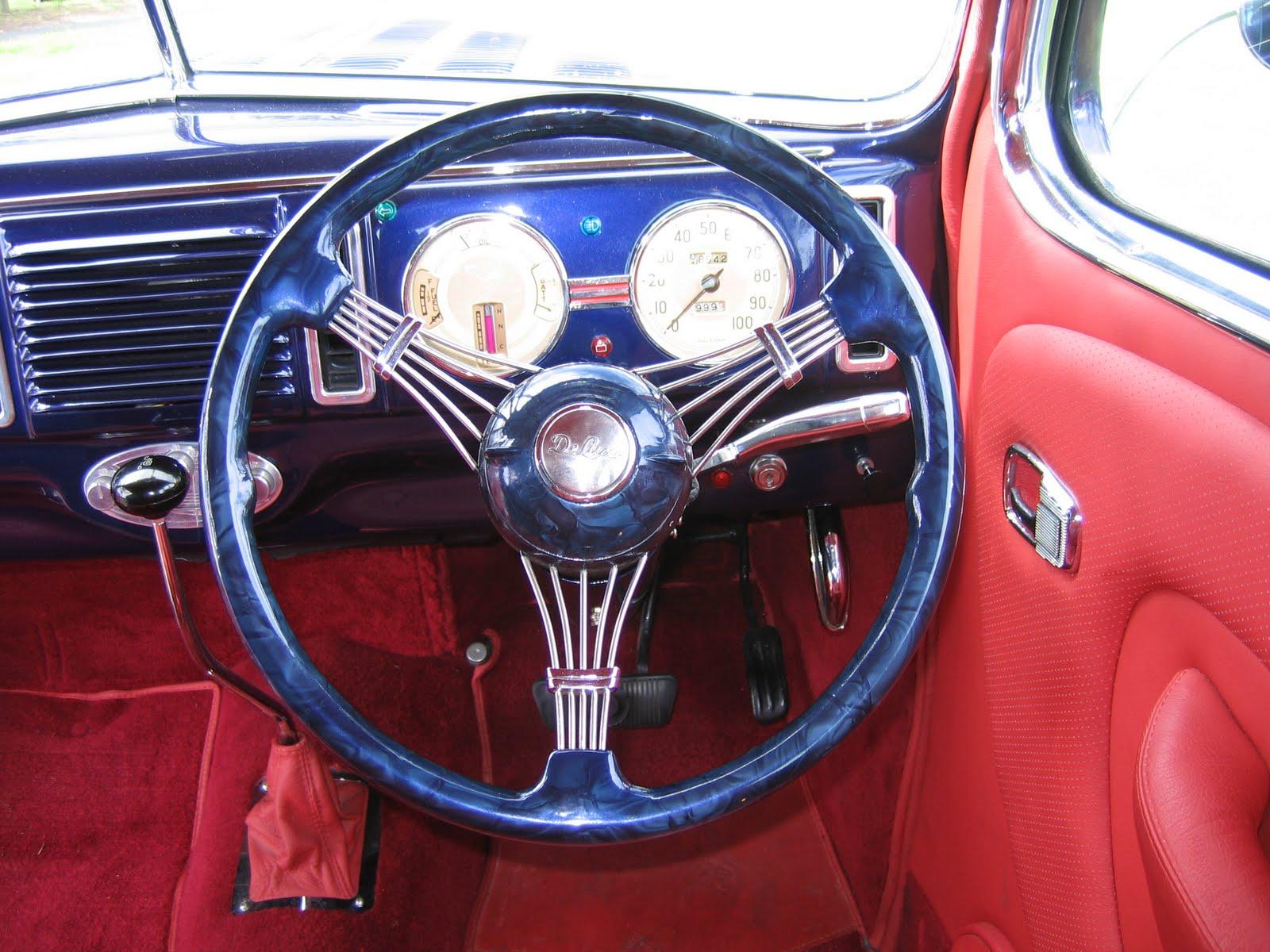 Chris Craft Banjo Steering Wheel