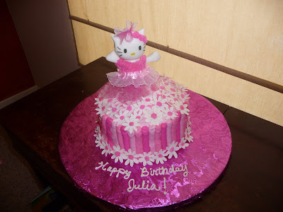 8f5f45c9f Dreaming in Buttercream: Hello Kitty Ballerina Cake