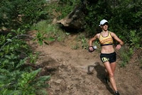 Caitlin Smith Barr Trail Mountain Race