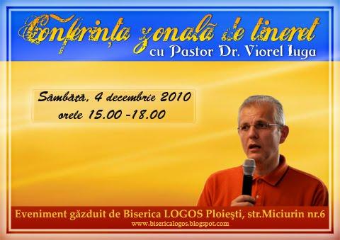 Conferinta zonala de tineret la Ploiesti cu Pastor Dr.Viorel IUGA