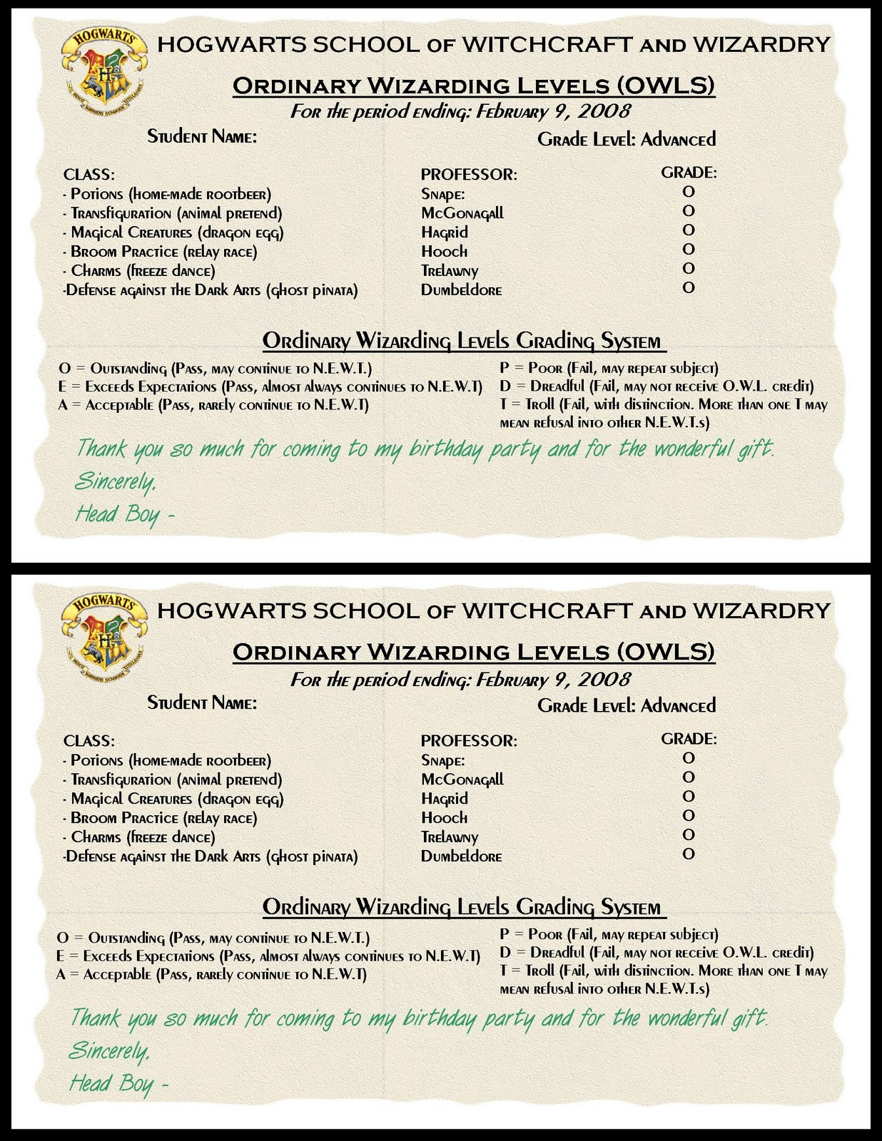 Ordinary wizarding levels online dating