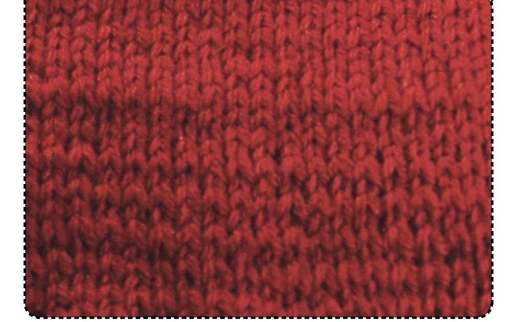 Stitch Appearance Round To Flat Knitting General Knitting