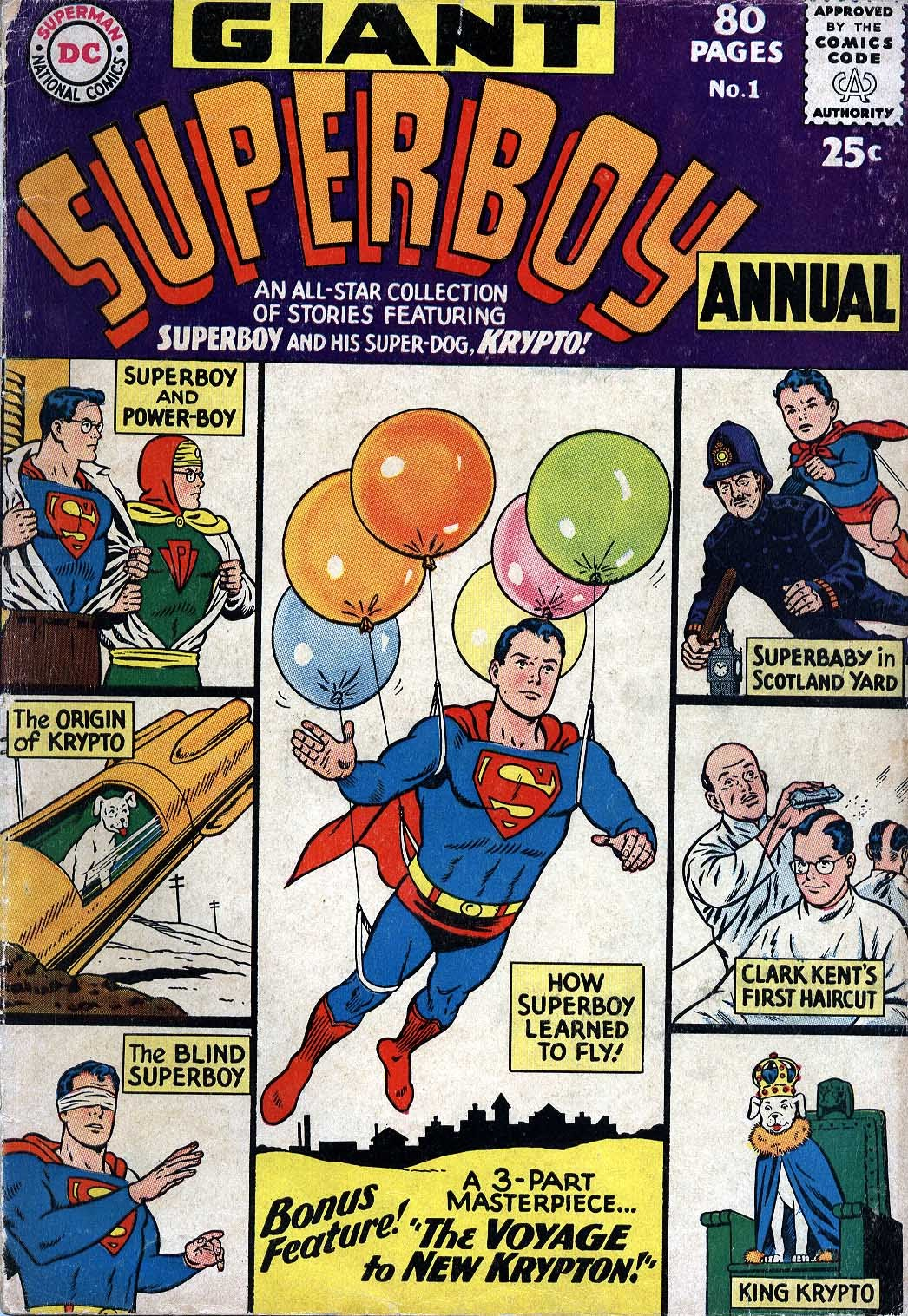 Superboy (1949) #Annual_1 #259 - English 1