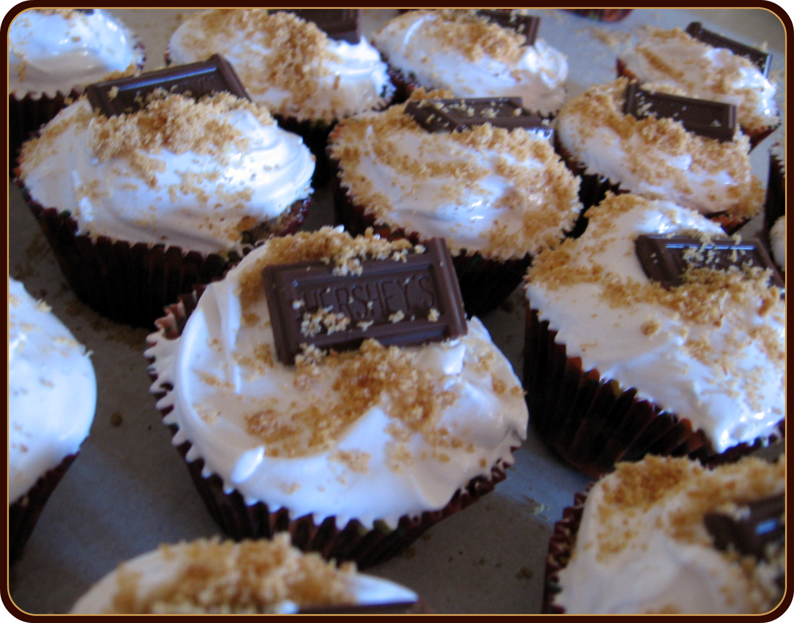 Homemade S Mores Cake Recipe: Bite Me Baker: Want S'more? Cupcakes That Is