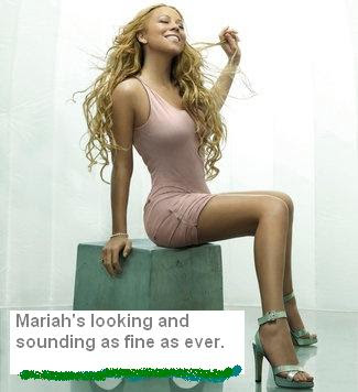 Mariah Careys looking as fine as ever these days still putting out big hits.