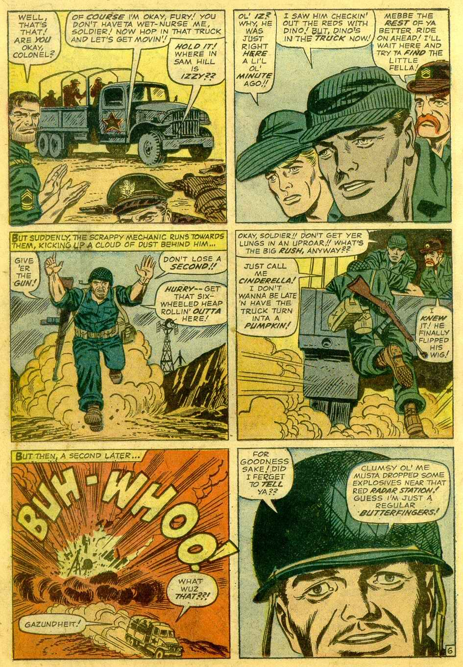 Read online Sgt. Fury comic -  Issue # _Annual 1 - 8