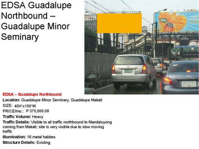 EDSA Guadalupe Northbound