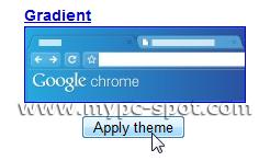 Terapkan Tema Google Chrome