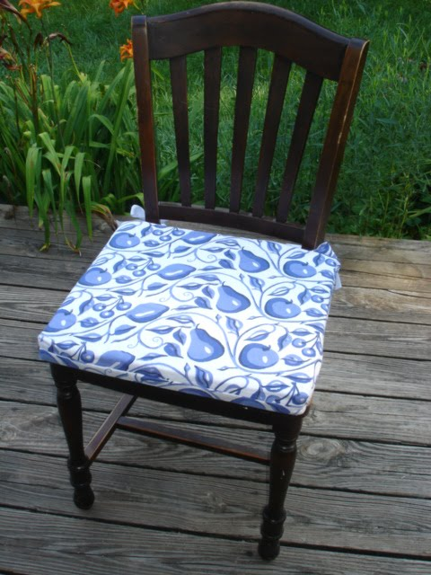 Sew Chair Cushions Chair Pads Amp Cushions