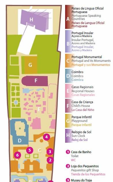 portugal dos pequeninos mapa Folha do Passado: PORTUGAL dos pequenitos portugal dos pequeninos mapa
