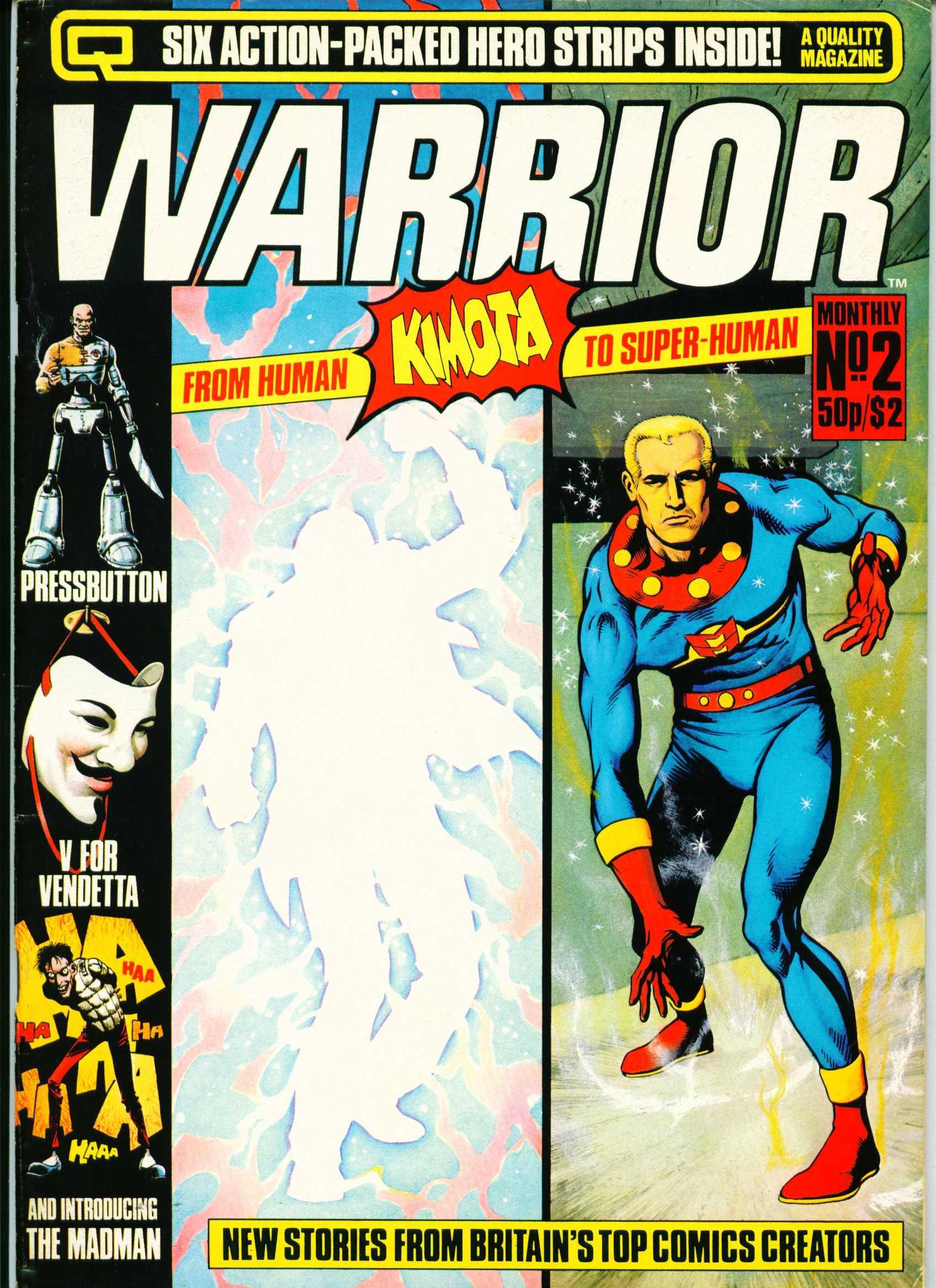 Warrior 2 Page 1