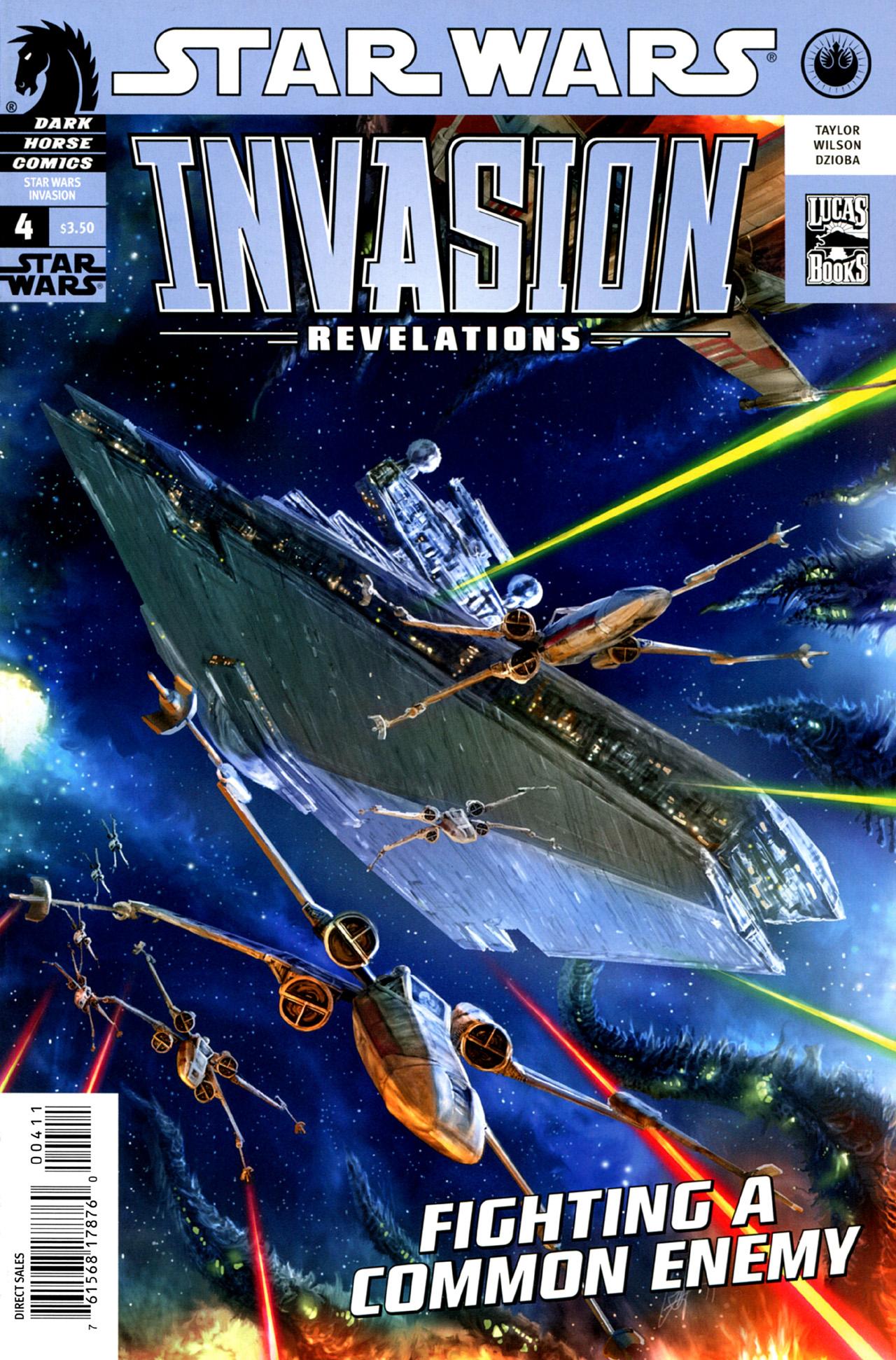 Star Wars: Invasion - Revelations 4 Page 1