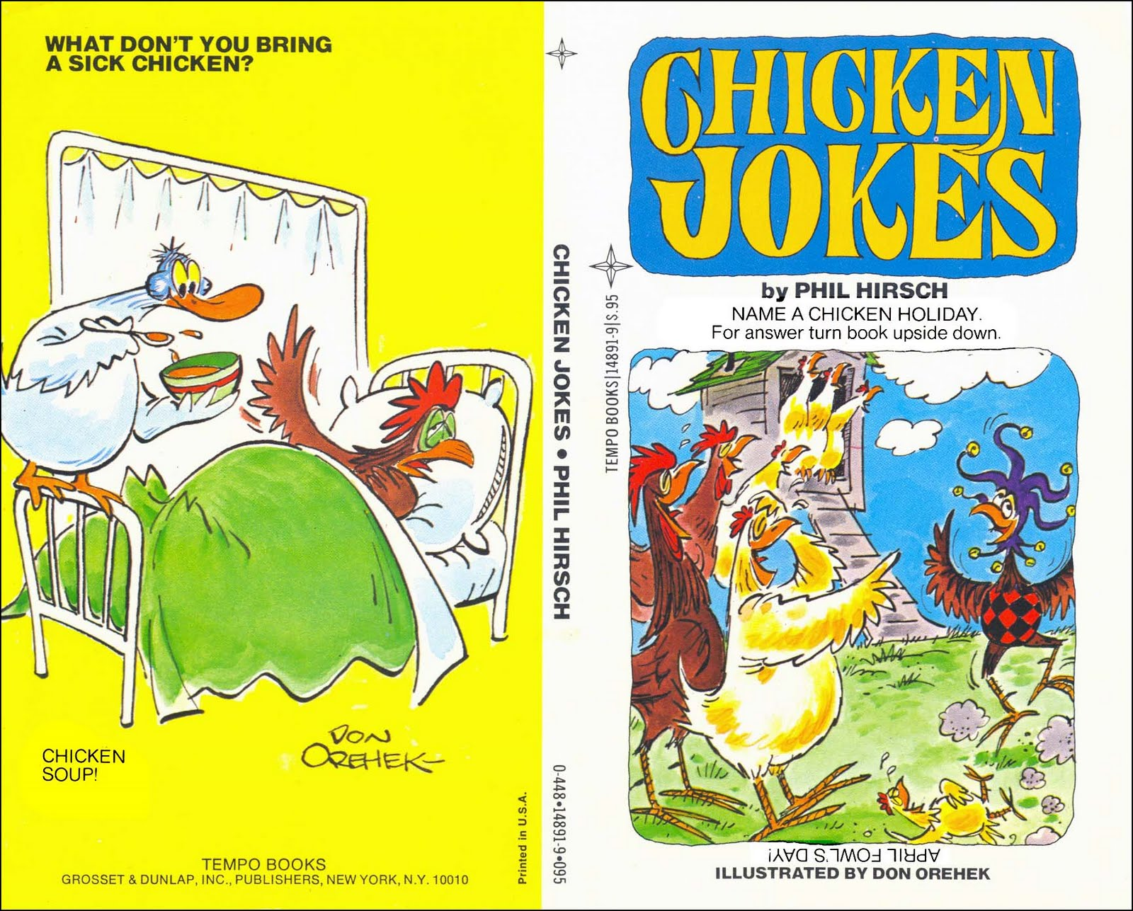 Jokes About Chickens: Don Orehek Cartoons: 209. Chicken Jokes