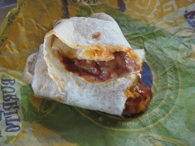 Review Taco Bell Bean Burrito Brand Eating