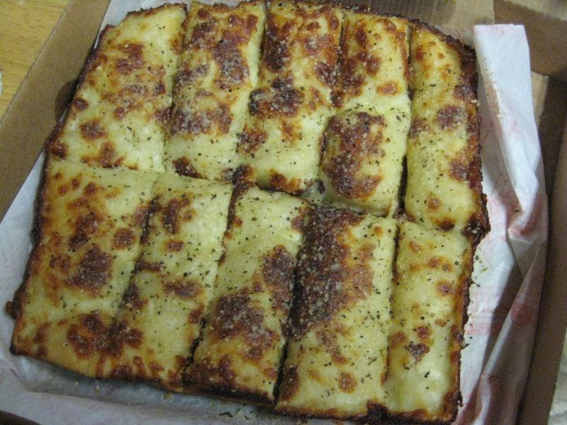 Review Little Caesars Italian Cheese Bread Brand Eating
