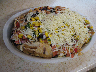 Chipotle Chicken Nachos