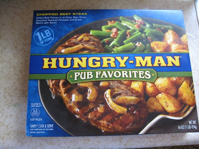 Hungry-Man Chopped Beef Steak box