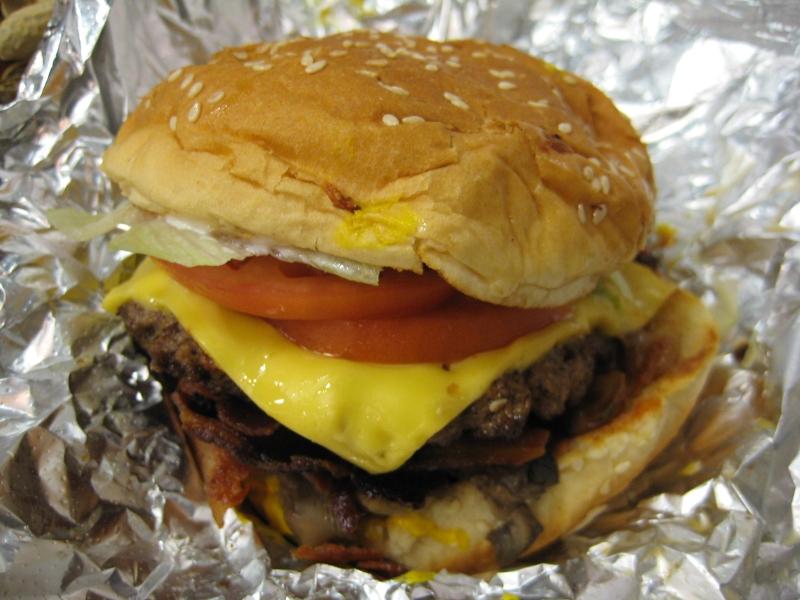 Five Guys Double Cheeseburger | www.pixshark.com - Images ...