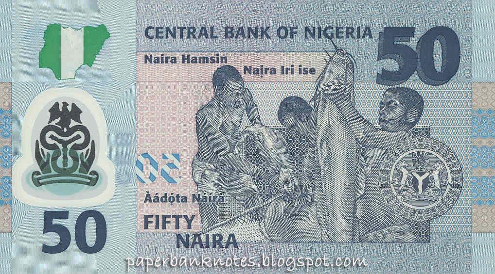 Nigeria 50 Naira Commemorative