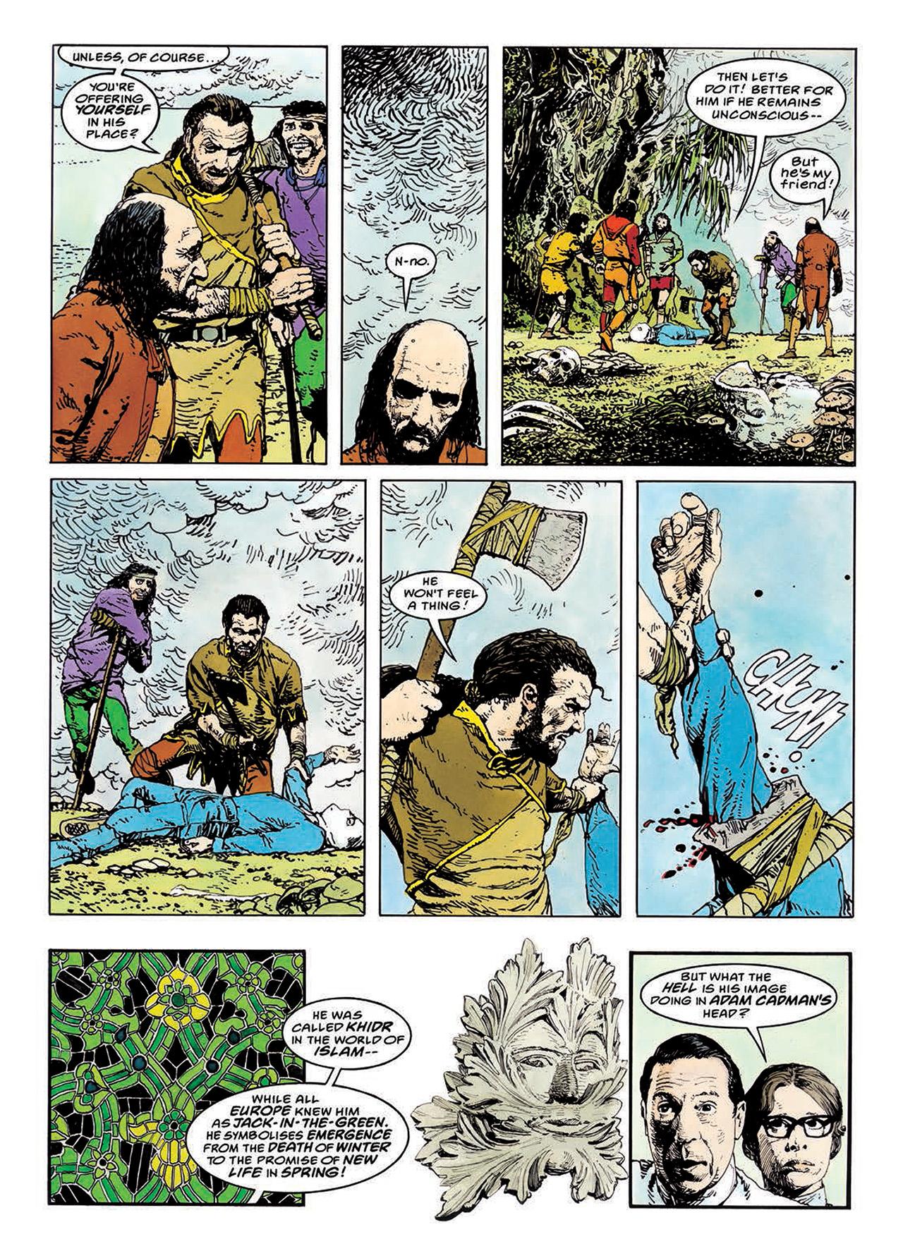 Read online Mazeworld comic -  Issue # TPB - 104