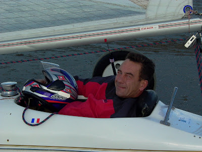 pierre-yves gires pilote char a voile classe 2 championnats d'europe