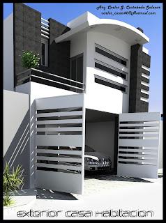 Proyectos arquitectonicos y dise o 3 d casa minimalista for Casa tipo minimalista