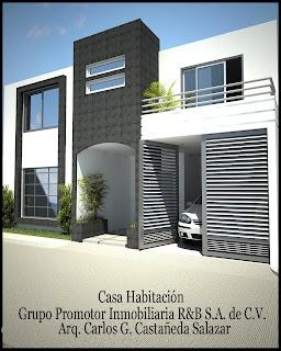 Proyectos arquitectonicos y dise o 3 d dise o de casas for Casa habitacion minimalista