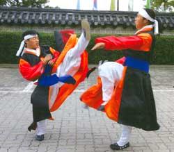 Taekkyon, Beladiri tradisional Korea