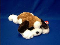 TY Yodeler Saint Bernard Plush Stuffed Animal