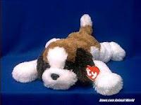TY Yodels Saint Bernard plush stuffed animal