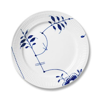 industry blue fluted plates - 350×350