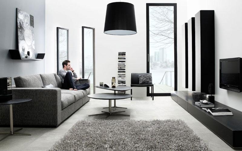 Ecologis id e d coration salon salons pur s par boconcept for Living office concept