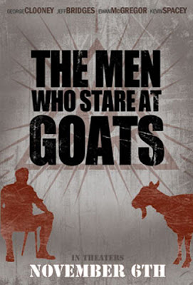 Men who stare at goats Filmposter