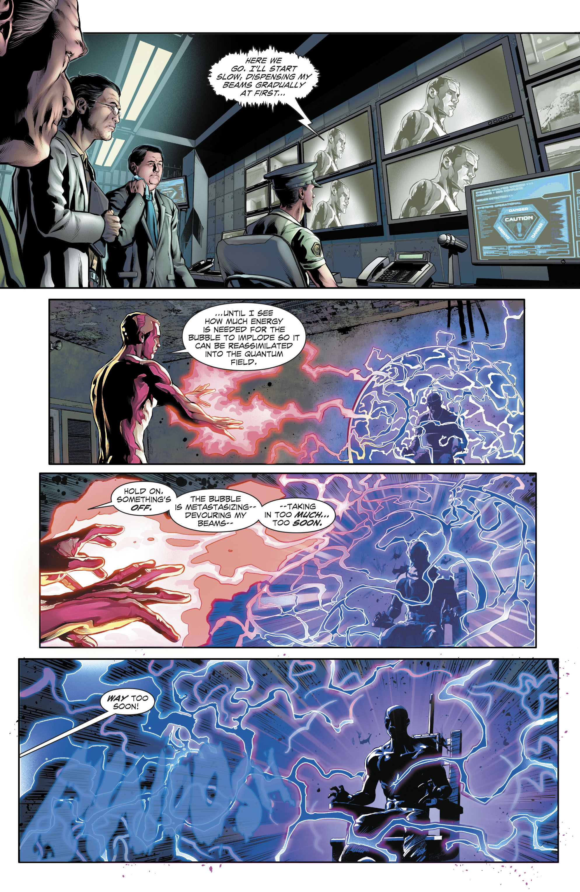 Read online The Fall and Rise of Captain Atom comic -  Issue #4 - 16