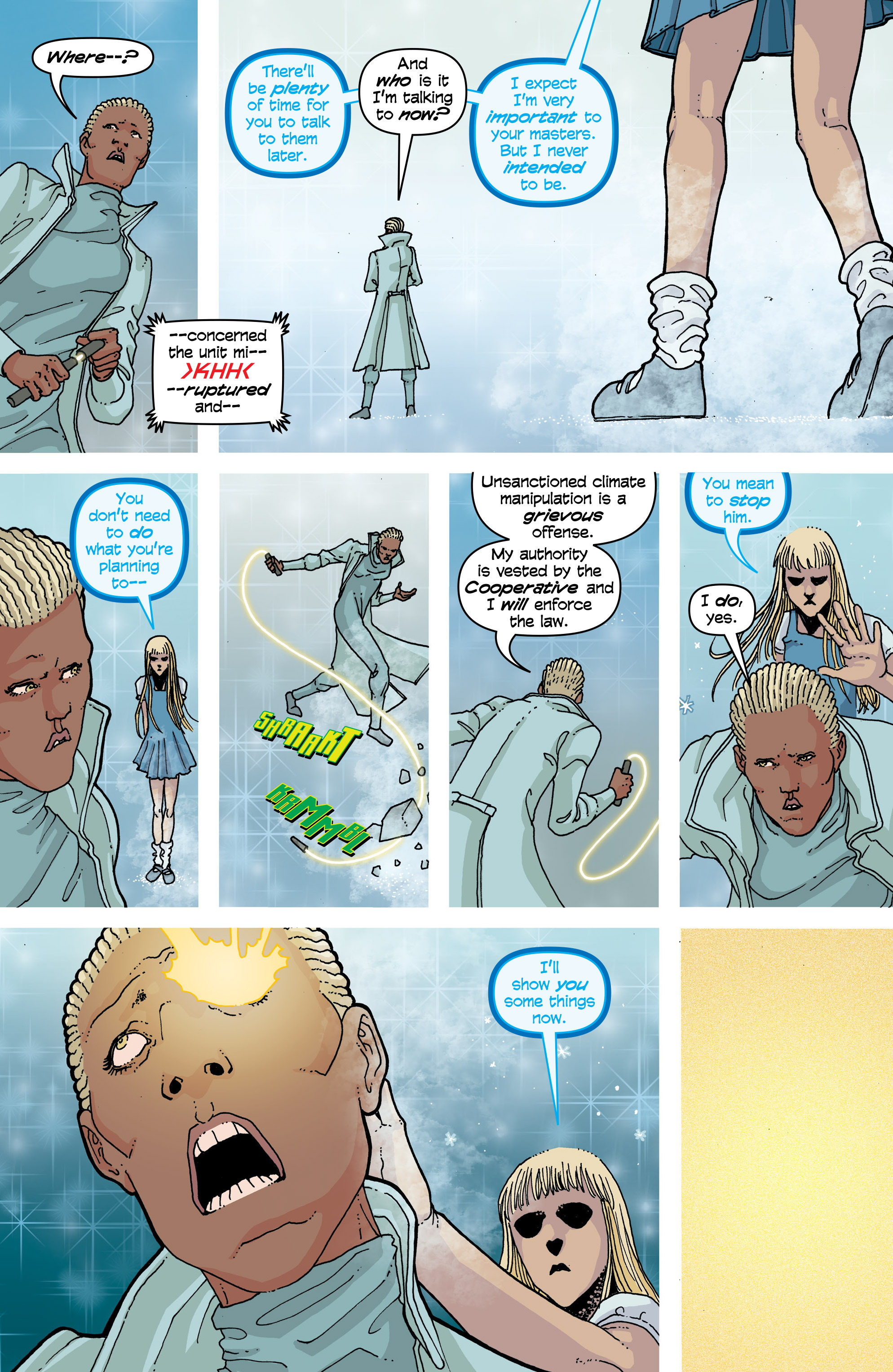 Read online Snowfall comic -  Issue #4 - 15