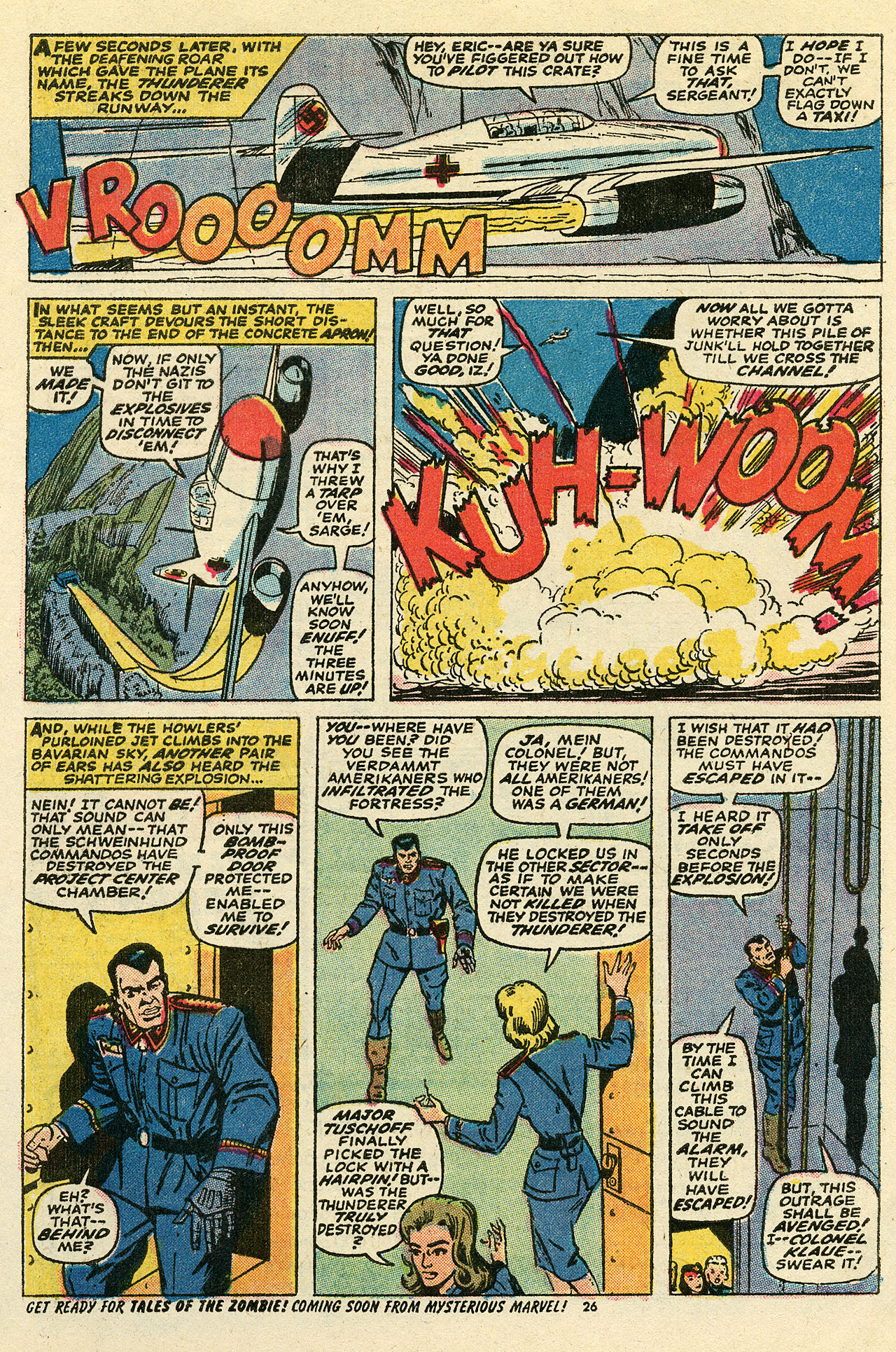 Read online Sgt. Fury comic -  Issue #111 - 28