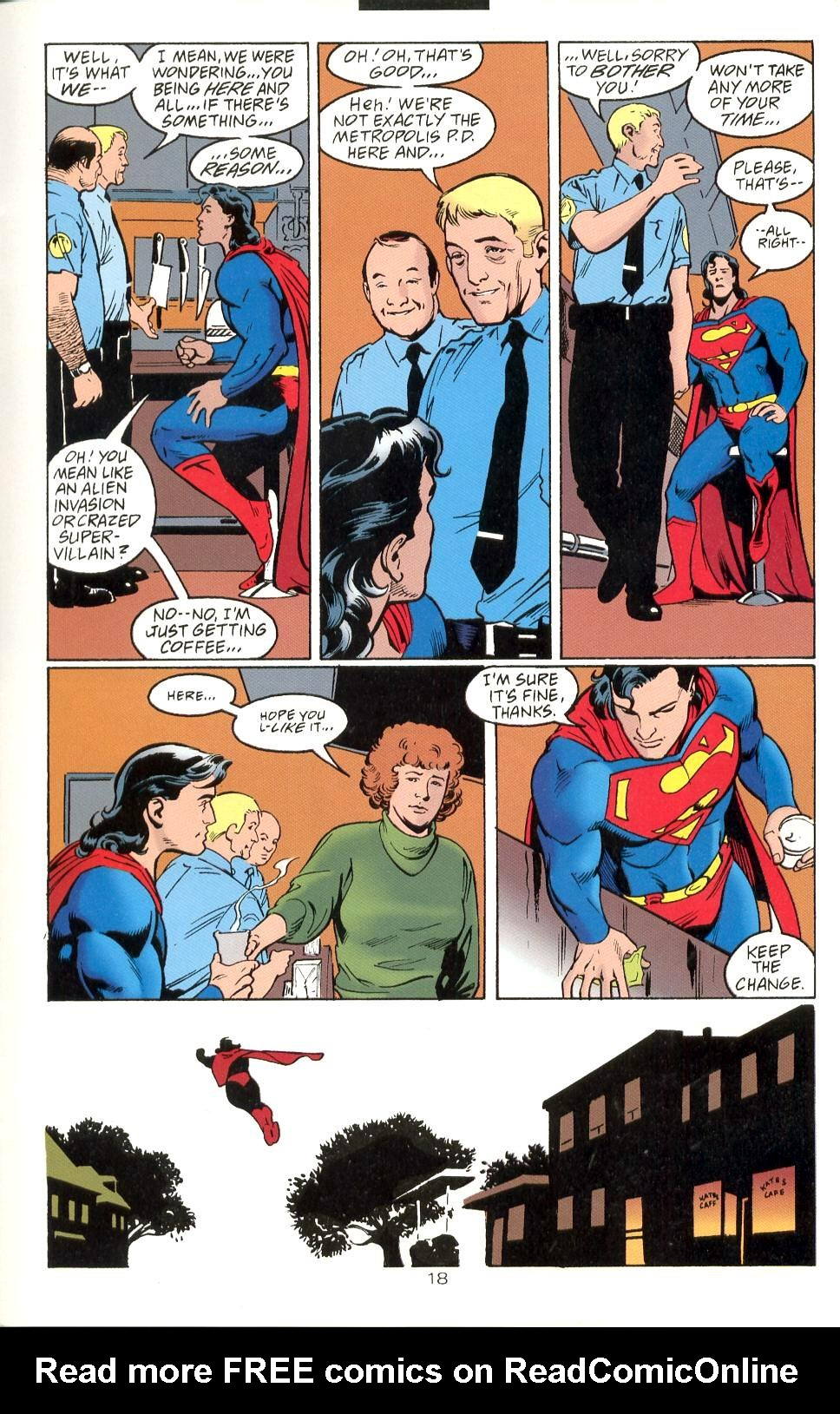 Read online Adventures of Superman (1987) comic -  Issue #525 - 19